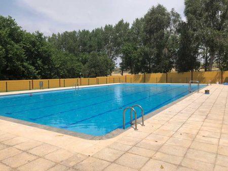 Malla piscina La Gineta | Cerralba Cerramientos Albacete