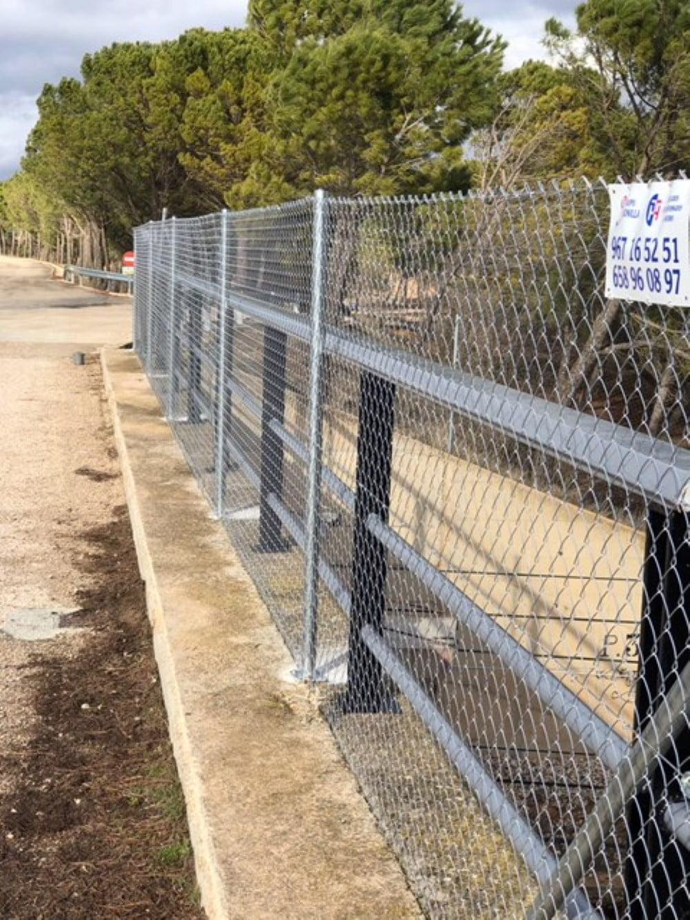 Cerramiento en Viaducto Tajo-Segura