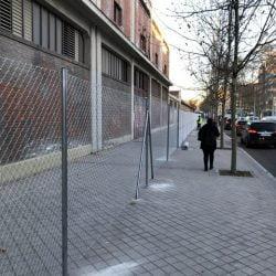 Vallado en Legazpi, Madrid | Cerramientos metálicos Albacete