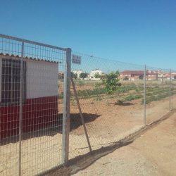 Malla simple torsión galvanizada en Casas Ibañez | Cerramientos metálicos Albacete