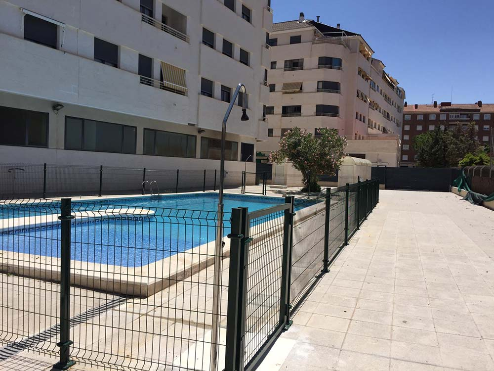 Malla Plegada Hércules Albacete | Cerramientos Cerralba