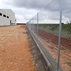 Malla galvanizada bodega cuenca | Trabajos realizados Cerralba, cerramientos Albacete