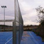 Paneles malla electrosoldada con marco en El Rebollar, Valencia
