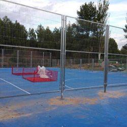 Paneles malla electrosoldada con marco en El Rebollar, Valencia | Cerralba