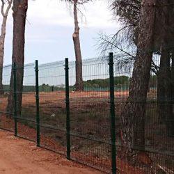 Cerramiento Hércules Quintanar del Rey en vivero forestal | Malla electrosoldada | Cerralba