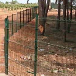 Cerramiento Hércules Quintanar del Rey en vivero forestal | Cerralba