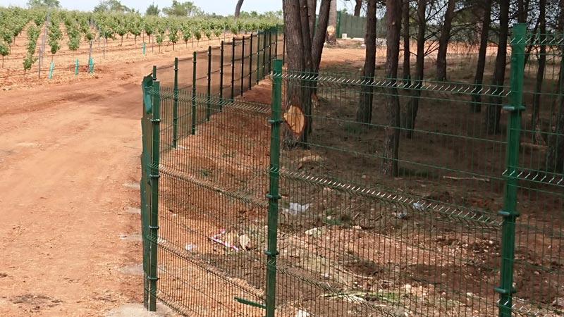 Cerramiento Hércules Malla electrosoldada en Quintanar del Rey