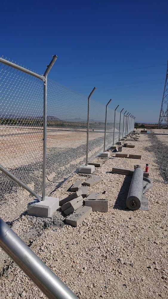 Vallado de subestaciones eléctricas ! Cerramientos Albacete | Cuenca y Toledo